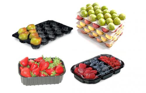 ГК «Новітні технології» пропонує пластикову упаковку для фруктів та ягід від Nespak