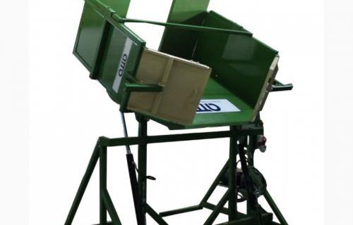 Опрокидыватель контейнеров: сфера применения и виды оборудования