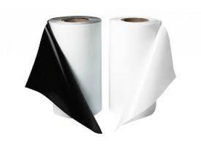 Пленка мульчирующая черно-белая