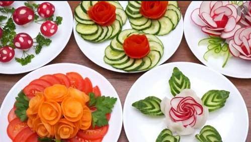 Нарізка овочів: основні форми. Пристосування для роботи