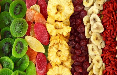 Оборудование для сушки фруктов и овощей